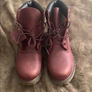 Timberland Womens 6 Inch Boots - Port Metallic